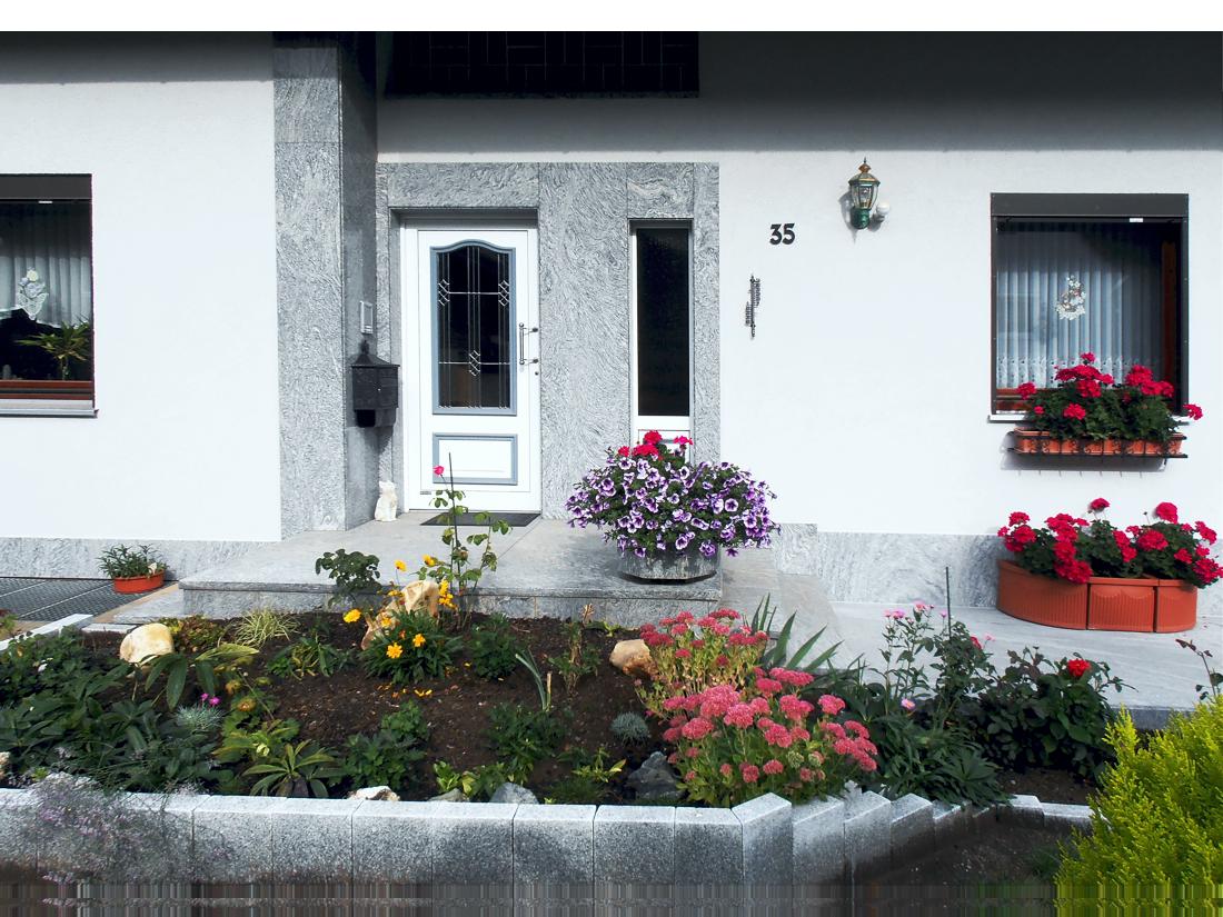 Hauseingänge von Pape Naturstein Goslar OT Vienenburg